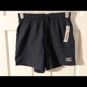 Outerwear Swimming Trunks, Size S, Navy blue